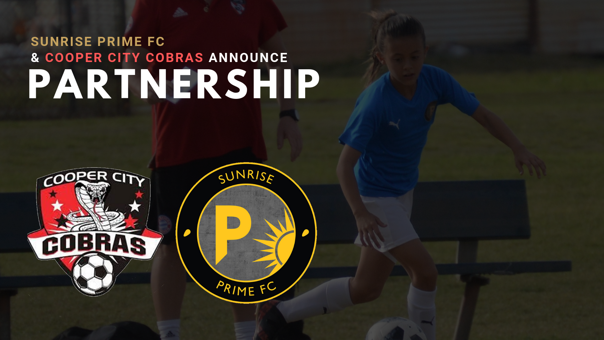 Cooper City Cobras & Sunrise Prime FC Announce Partnership