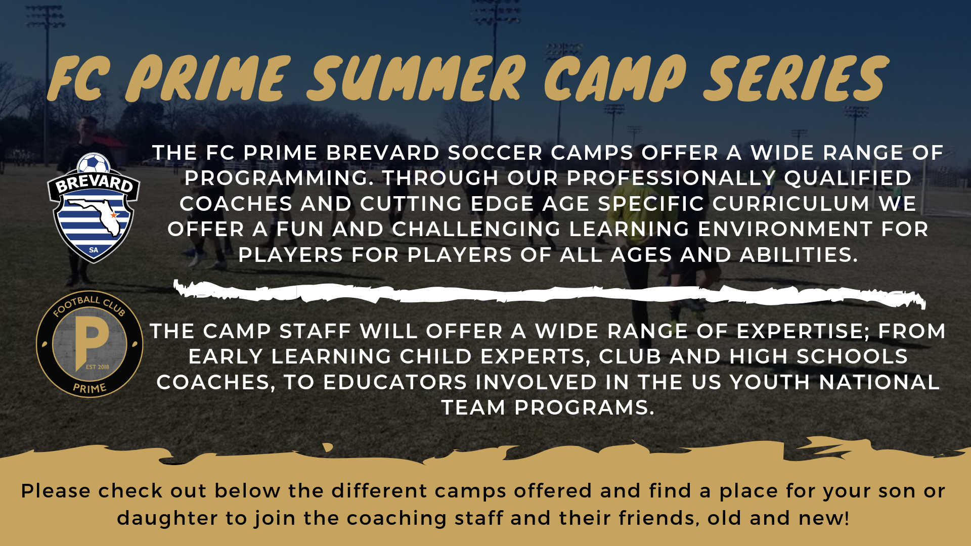 Summer Camp Series